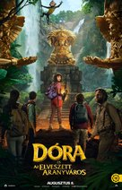 Dora and the Lost City of Gold - Hungarian Movie Poster (xs thumbnail)