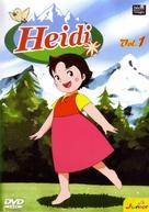 """Heidi"" - French DVD cover (xs thumbnail)"