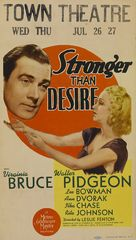 Stronger Than Desire - Movie Poster (xs thumbnail)