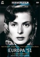 Europa '51 - Italian Movie Cover (xs thumbnail)