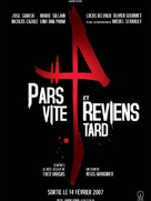 Pars vite et reviens tard - French Movie Poster (xs thumbnail)