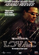 The Watcher - Czech DVD movie cover (xs thumbnail)