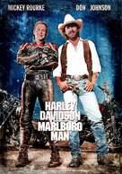 Harley Davidson and the Marlboro Man - Australian Movie Cover (xs thumbnail)
