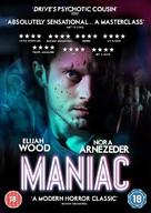 Maniac - British DVD cover (xs thumbnail)