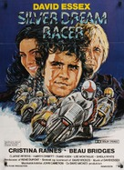 Silver Dream Racer - Danish Movie Poster (xs thumbnail)