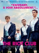 The Riot Club - French Movie Poster (xs thumbnail)