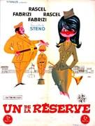 Un militare e mezzo - French Movie Poster (xs thumbnail)