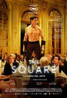 The Square - Mexican Movie Poster (xs thumbnail)