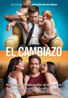 The Change-Up - Spanish Movie Poster (xs thumbnail)