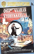 The Living Daylights - Finnish VHS movie cover (xs thumbnail)