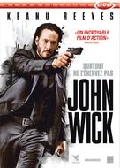 John Wick - French DVD movie cover (xs thumbnail)