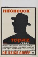 Topaz - Belgian Movie Poster (xs thumbnail)
