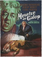Murder at the Gallop - French Movie Poster (xs thumbnail)