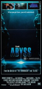 The Abyss - Australian Movie Poster (xs thumbnail)