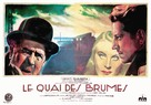 Le quai des brumes - French Movie Poster (xs thumbnail)
