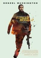 The Equalizer 2 - Estonian Movie Poster (xs thumbnail)