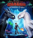 How to Train Your Dragon: The Hidden World - Brazilian Blu-Ray movie cover (xs thumbnail)