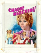 Any Wednesday - French Movie Poster (xs thumbnail)