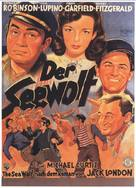 The Sea Wolf - German Movie Poster (xs thumbnail)