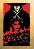 V For Vendetta - Swedish poster (xs thumbnail)