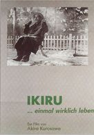 Ikiru - German DVD cover (xs thumbnail)