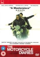Diarios de motocicleta - British DVD cover (xs thumbnail)