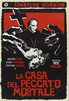 House of Mortal Sin - Italian DVD movie cover (xs thumbnail)