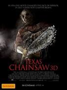 Texas Chainsaw Massacre 3D - Australian Movie Poster (xs thumbnail)