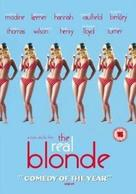 The Real Blonde - British DVD movie cover (xs thumbnail)