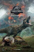 Jurassic World Fallen Kingdom - Argentinian Movie Poster (xs thumbnail)