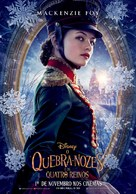 The Nutcracker and the Four Realms - Brazilian Movie Poster (xs thumbnail)