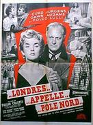 Londra chiama Polo Nord - French Movie Poster (xs thumbnail)