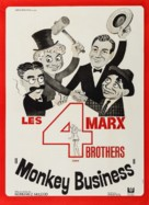 Monkey Business - French Movie Poster (xs thumbnail)