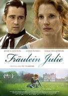 Miss Julie - German Movie Poster (xs thumbnail)