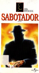 Saboteur - Brazilian VHS movie cover (xs thumbnail)