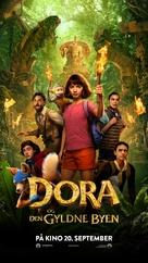 Dora and the Lost City of Gold - Norwegian Movie Poster (xs thumbnail)