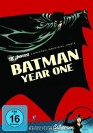 Batman: Year One - German DVD cover (xs thumbnail)