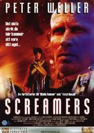 Screamers - Swedish DVD cover (xs thumbnail)