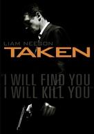 Taken - DVD movie cover (xs thumbnail)