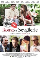 To Rome with Love - Turkish Movie Poster (xs thumbnail)