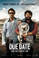 Due Date - Danish Movie Poster (xs thumbnail)