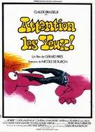 Attention les yeux! - French Movie Poster (xs thumbnail)