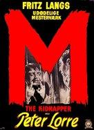 M - Danish Movie Poster (xs thumbnail)