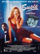 The Fabulous Baker Boys - French Movie Poster (xs thumbnail)