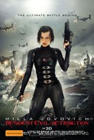 Resident Evil: Retribution - Australian Movie Poster (xs thumbnail)