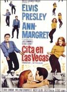 Viva Las Vegas - Spanish Movie Poster (xs thumbnail)
