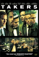 Takers - DVD cover (xs thumbnail)