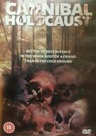 Cannibal Holocaust - British DVD movie cover (xs thumbnail)