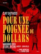Per un pugno di dollari - French Re-release poster (xs thumbnail)