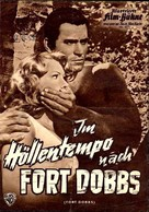 Fort Dobbs - German poster (xs thumbnail)